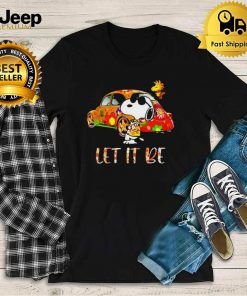 Let it be snoopy summer shirt