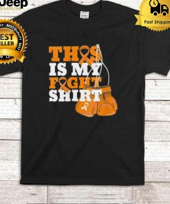 This Is My Fight Shirt ADHD Fighter Hope Support Strong Shirt
