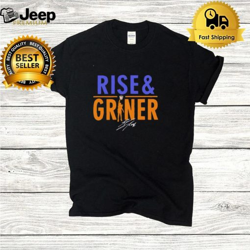 Brittney Rise and Griner shirt